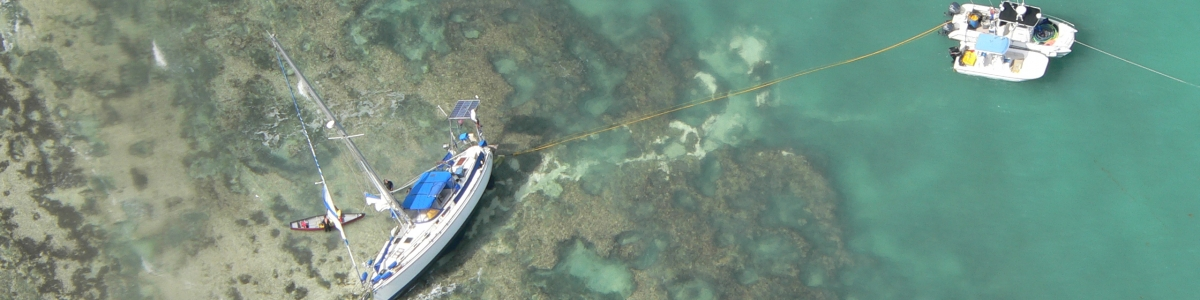 ADV grounding on hardbottom resources in the Florida Keys National Marine Sanctuary