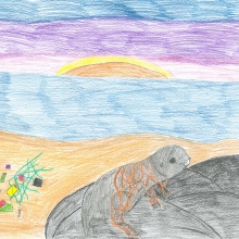 Artwork by Riley O. (Grade 4, Maryland)