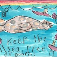 Artwork by Emily E. (Grade 1, Alaska)