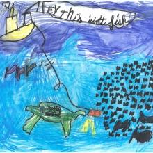 Artwork by Matt K. (Grade 1, Georgia)