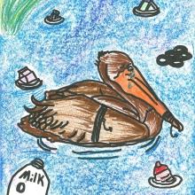 Artwork by Tayler W. (Grade 5, Florida)