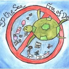 Artwork by Carson M. (Grade 3, Georgia).