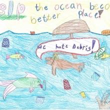 Artwork by Lexy F. (Grade 3, Texas).