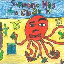 Artwork by Marguerite A. (Grade 4, California)