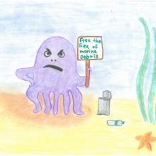 Artwork by Elizabeth H. (Grade 4, Florida)
