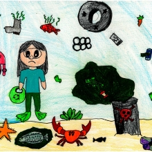 Artwork by Anastasia K. (Grade 4, Pennsylvania)