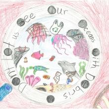 Artwork by Zachary L. (Grade 4, Rhode Island)