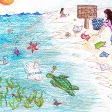 Artwork by Elaine L. (Grade 4, Florida)