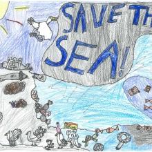 Artwork by Hannah H. (Grade 5, Alaska)