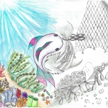 Artwork by Nicole N. (Grade 7, New Jersey)
