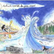 Artwork by Debbie  B. (Grade 7, Virginia)