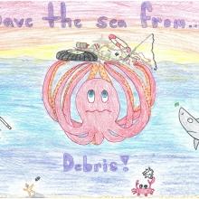 Artwork by Emily B. (Grade 8, Pennsylvania).