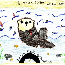 Artwork by Nora B. (Grade 8, Hawaii)