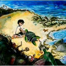 Artwork by Jennie C. (Grade 8, Massachusetts)
