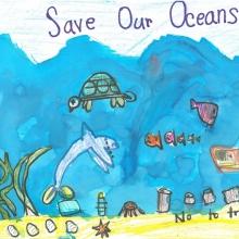 Artwork by Carlotta C. (Grade K, Guam)
