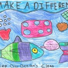 Artwork by Brianna V. (Grade 3, California)