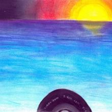Artwork by Caroline K. (Grade 8, Virginia)