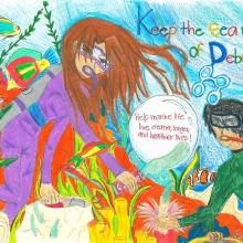 Artwork By Anolani V. (Grade 6, Hawaii)