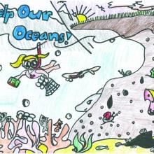 Artwork by Natania J. (Grade 3, Hawaii)