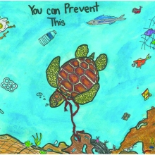 Artwork by Kyra T. (Grade 5, Hawaii)