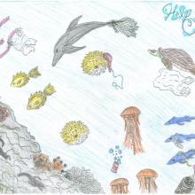 Artwork by Jennifer S. (Grade 8, Kentucky)