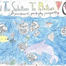 Artwork by Stephanie S. (Grade 4, Massachusetts)