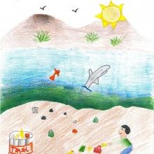 Artwork By Tricia J. (Grade 2, California)