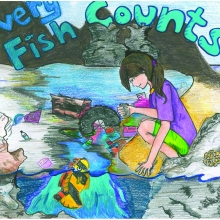 Artwork by Hsiu L. (Grade 8, California)