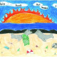 Artwork by Taylee H. (Grade 3, Hawaii)