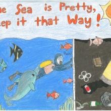Artwork by Jenny B. (Grade 8, Michigan)