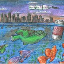 Artwork by Deanna W. (Grade 8, North Carolina)