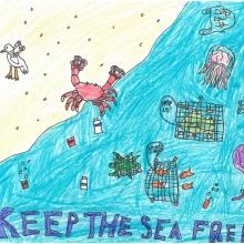 Artwork by Joanna S. (Grade 4, New York)