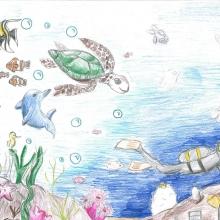 Artwork by Dani F. (Grade 8, Virginia)