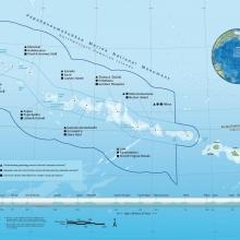 Papahānaumokuākea Marine National Monument Map