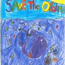 Artwork by Maggie R. (Grade 3, West Virginia)