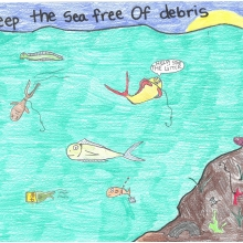 Artwork by Ellery S. (Grade 6, South Carolina)