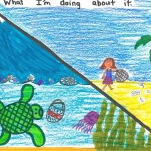 Artwork By Annika F. (Grade 3, California)