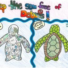 Artwork by Aleena F. (Grade 5, Texas)