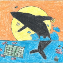 Artwork by Diego D. (Grade 7, Washington)