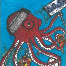 Artwork by Armanita L. (Grade 7, Washington)