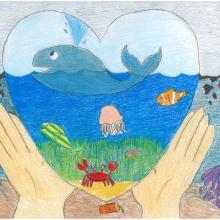 Artwork by 2014 Art Contest Winner Ivy H. (Grade 6, Michigan)