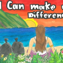 Artwork by Leilani H. (Grade 8, Hawaii)