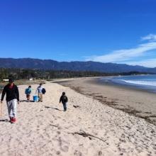 Santa Barbara Students Gather Data on Marine Debris.