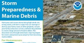 Storm Preparedness & Marine Debris Fact Sheet.