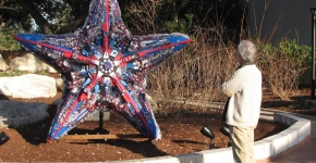 Washed Ashore art project made with marine debris. (Photo credit: Washed Ashore Project)