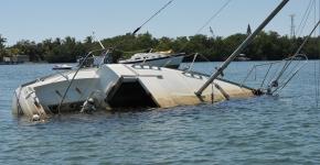 Derelict vessel in Florida