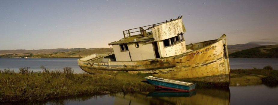 California boat Point Reyes