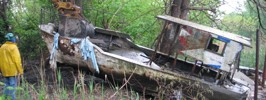 Fordson Island ADV Removals, Boat #10