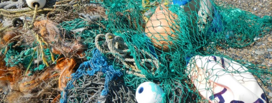 A pile of nets.