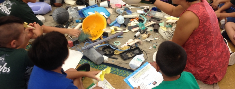 HWF pilots new marine debris curriculum (Photo Credit: HWF).